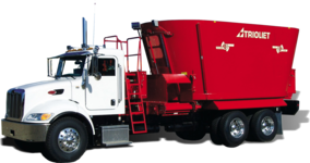 Truckmount selbstfahrender Futtermischwagen